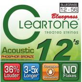 CLEARTONE 7423 ACOUSTIC PHOSPHOR BRONZE BLUEGRASS 12-56