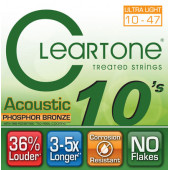 CLEARTONE 7410 ACOUSTIC PHOSPHOR BRONZE ULTRA LIGHT 10-47