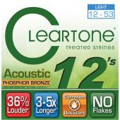 CLEARTONE 7412 ACOUSTIC PHOSPHOR BRONZE LIGHT 12-53