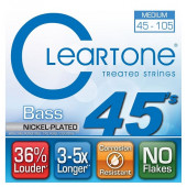 CLEARTONE 6445 BASS NICKEL-PLATED MEDIUM 45-105