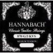 652 571 Струна G / 3 для класичної гітари Hannabach 875LT (chrome)